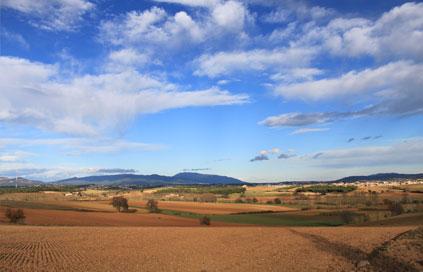 Paissatge de tardor Espai Rural Gallecs